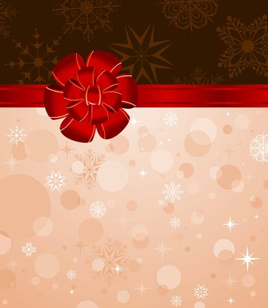 trumpery: Illustration Christmas background with set balls for holiday design Stock Photo