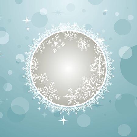 trumpery: Illustration Christmas invitation with effect bokeh - vector