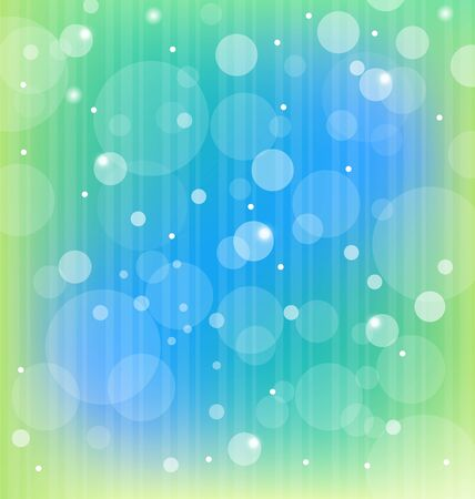 Illustration colorful bokeh abstract light background Vector