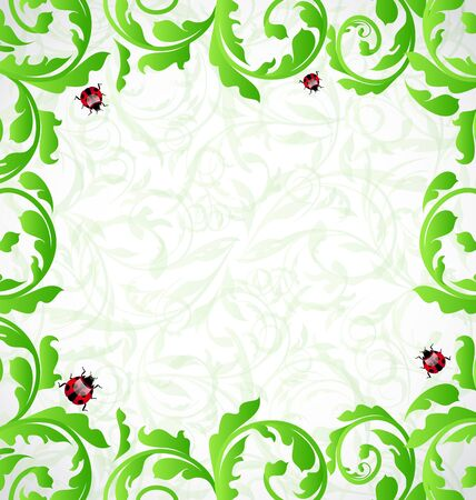 Illustration eco friendly background Stock Illustration - 15125299