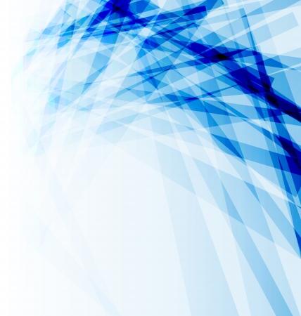Illustratie blauw brochure, abstracte achtergrond