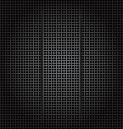 perforation: Illustration perforation background texture, paper cut - vector Illustration