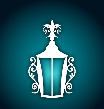 Illustration forging lantern for Ramadan Kareem  Vector