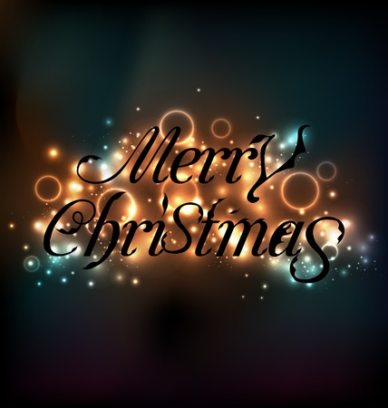 Illustration Merry Christmas floral text design  Stock Vector - 20621722