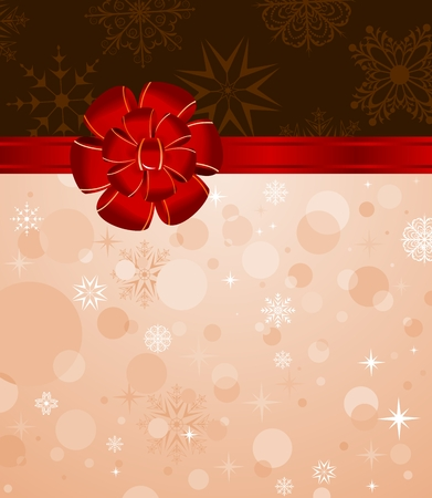 trumpery: Illustration Christmas background with set balls for holiday design - vector