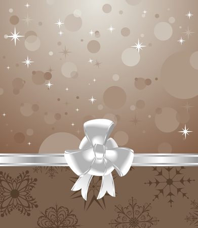 trumpery: Illustration cute background for Christmas packing - vector