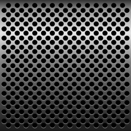 titan: Illustration of titan metallic texture for design - vector