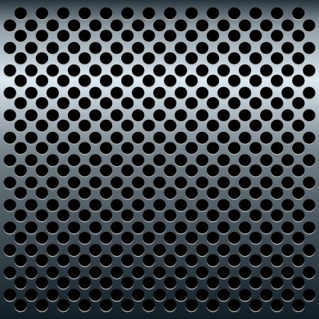 Illustration of titan metalic texture for design - vector