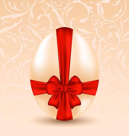 Illustration Easter celebration background with traditional egg  - vector Illustration