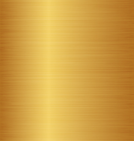 Illustration golden metal texture (copper, brass, bronze)