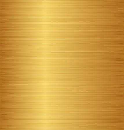 Illustration golden metal texture (copper, brass, bronze)  Vector