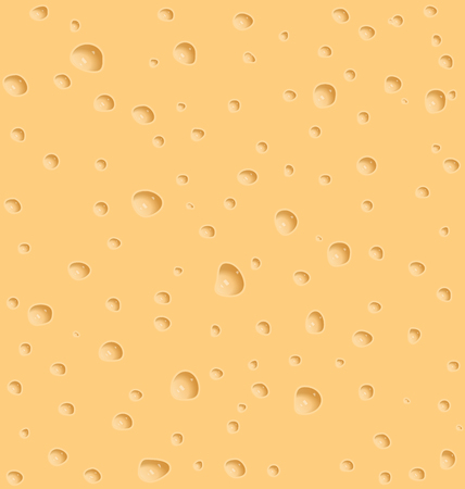 holes: Illustration cheese texture with holes - vector