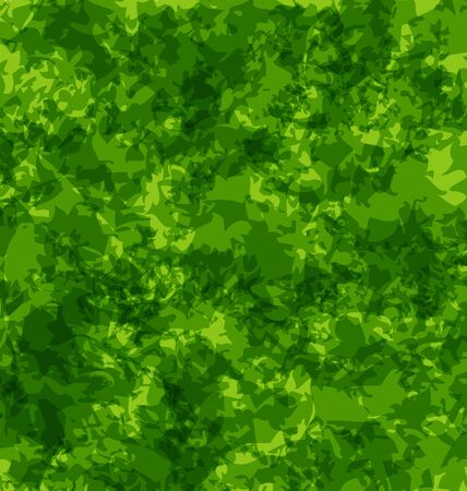 green texture: Illustration abstract grunge background, green texture - vector