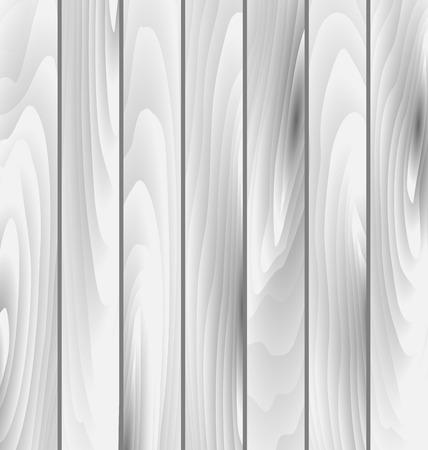 laminated: Illustration grey wooden texture, timber surface - vector Illustration