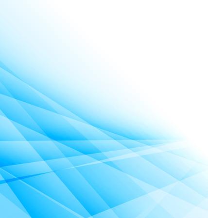 lineas decorativas: Ilustraci�n fondo abstracto ligero azul, folleto de negocios - Vector Vectores