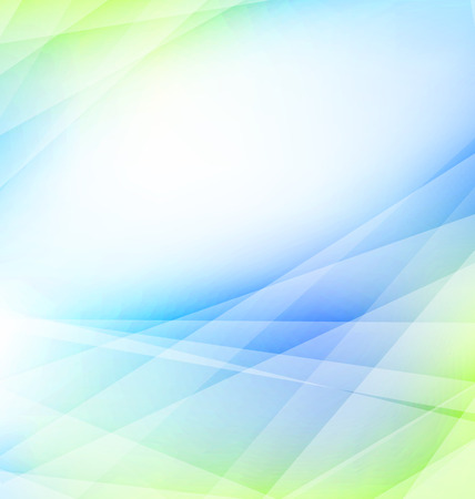 Illustration Light Abstract Background, Business Template - Vector