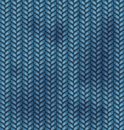 burlap sack: Blue Fabric Wools Texture with Dirty Spots - vector Stock Photo