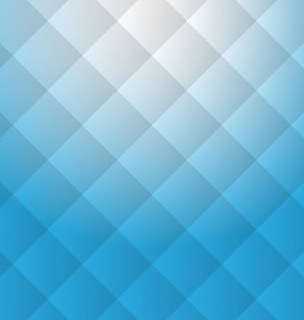 Illustration Blue Light Abstract Background, Business Brochure - Vector Stock Photo