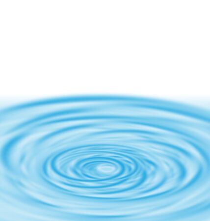 Water Twirl Funnel Blue Abstract Background - vector Vector