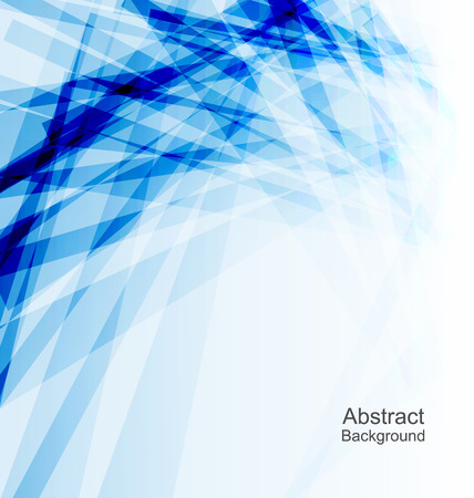Illustration Abstract  Blue Background, Concept Template - vector Illustration