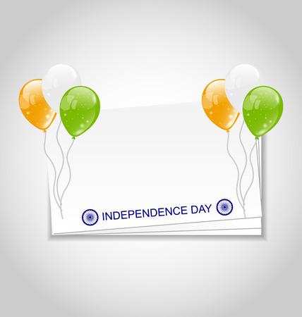 Día De La Independencia Del Ejemplo Digital Del Arte De La India ...