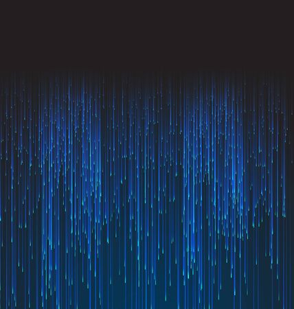 Abstract Background Fiber Optic Trace Blue Signal - raster