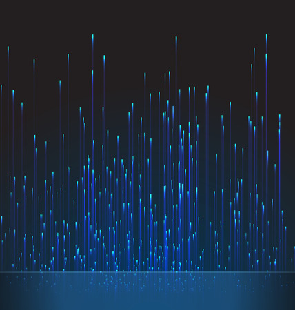 fibra ottica: Sfondo di fibra ottica Trace Blu segnale