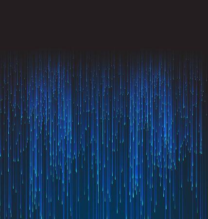 fibra: Abstract Background in fibra ottica Trace Blu segnale Vettoriali