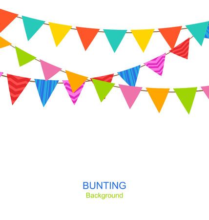 Establecer Bunting Banderines
