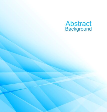 technical: Illustration Blue Light Abstract Background, Business Brochure Stock Photo