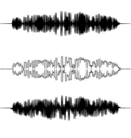 soundtrack: Set Illustration Audio Equalizer Pattern Music Pulse Element