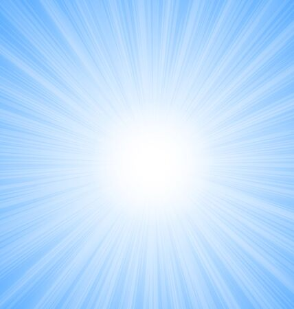 sun flare: Illustration Abstract Blue Sky Background Sun Rays shine vibrant - vector Illustration