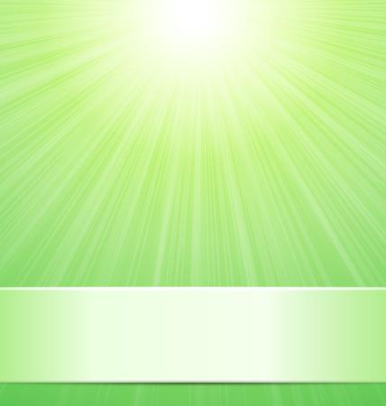 resplandor: La naturaleza verde de fondo soleado con lugar para el texto - vector