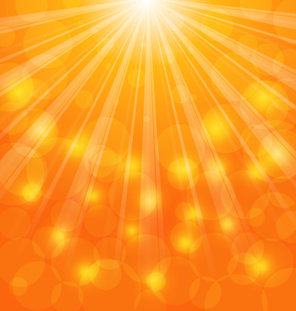 rays light: Illustration Abstract Background with Sun Light Rays - Vector