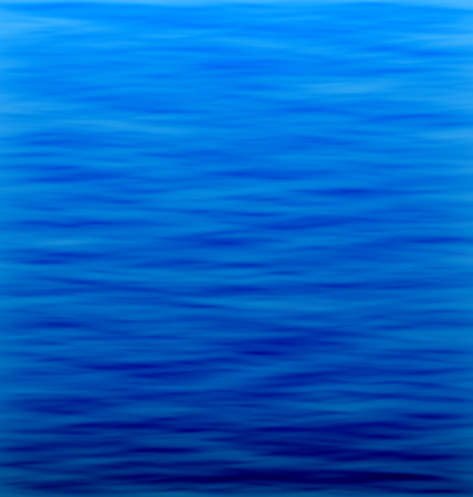 underworld: Illustration Abstract Underwater Background. Water Waves Effects. Blue Underworld. Ocean or Sea Surface - Vector