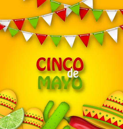 Holiday Celebration Poster for Cinco De Mayo