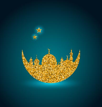 Ramadan Celebration Background, Holy Month, Mosque, Arabian Card