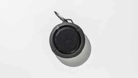 Bluetooth speaker on white background Banque d'images - 134842753