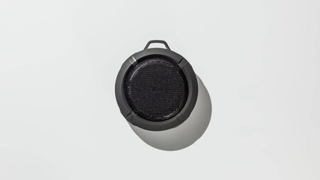 Bluetooth speaker on white background Banque d'images - 134843057