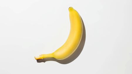 Bananas on white background isolate