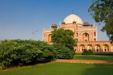 Humayun s tomb, New Delhi, India