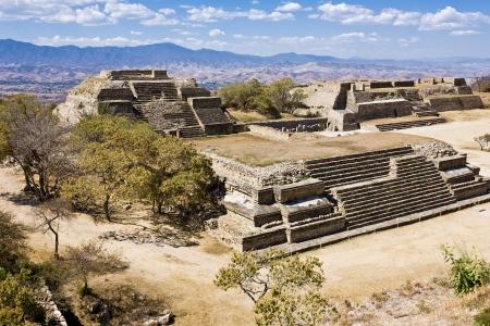 monte: Monte Alban - the ruins of the Zapotec civilization in Oaxaca, Mexico