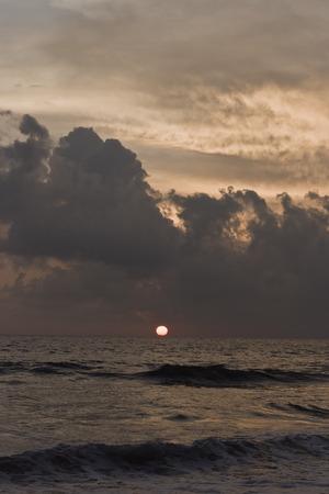 varkala: Sunset in Varkala, Kerala,  India