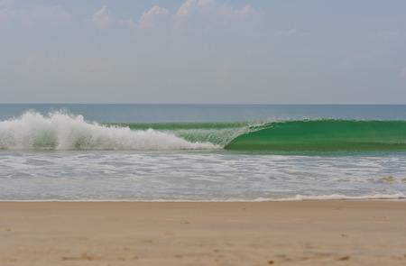varkala: Waves in ocean, Varkala, Kerala, India Stock Photo