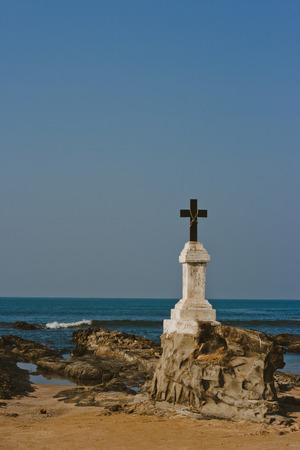 beach landscape: Goa beach landscape, India