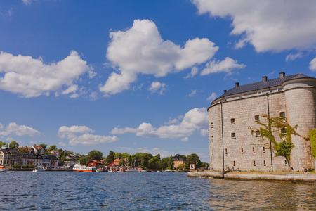 archipelago: Vaxholm fortress, Stockholm archipelago, Sweden