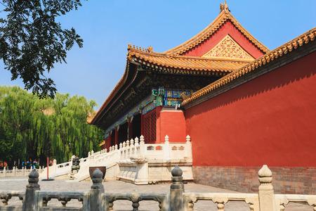 China Beijing Forbidden city - ancient residence of Emperor