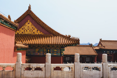 emperor of china: China Beijing Forbidden city - ancient residence of Emperor