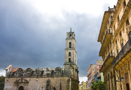 city view of Havana, capital of Cuba Stock Photo