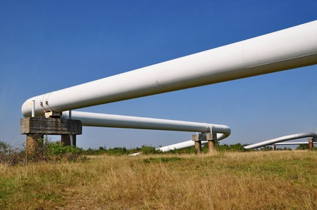 The high pressure pipeline Stock Photo - 10500345